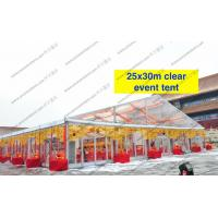 Buy cheap Transparent Roof Clear Span Tent 20m x 30m Glass Walls For Wedding / Party from wholesalers