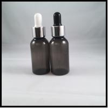 China Black Empty PET E Liquid Bottles , Durable Eye Dropper Bottles With Pipette wholesale