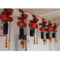 China Electric Chain Hoist With Low Headroom / Heavy Duty Performance For Lifting And Handling wholesale