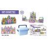 China 168 Pcs Magetic Plastic Building Blocks Educational Toys / Construction Building Sets Toys wholesale