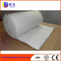 China Fireproof Refractory Ceramic Fiber Blanket Insulation For Industrial / Steel on sale