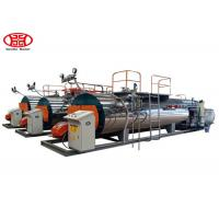 China Horizontal Industrial Steam Boilers WNS Type ISO9001 / SGS Certificated wholesale