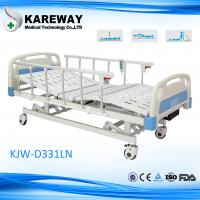 Plastic Cranks Motorised Hospital Bed 1.2mm Thickness 3 Functions Hospital for sale