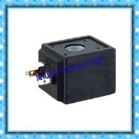 China Direct Acting DC Solenoid Coil DIN43650A DC24V for Pulse Jet Valves wholesale