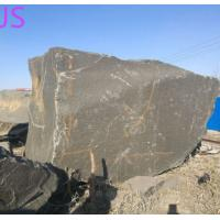 China Shanxi Black Granite Block Stone for Monument/Countertop/Fireplace/Engineering Slabs wholesale