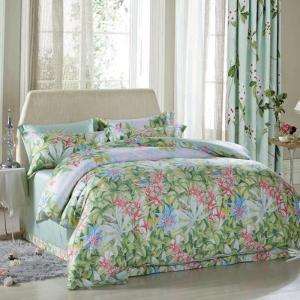 Buy cheap 贅沢で美しい家の寝具は対のサイズ/クイーン サイズの絹材料を置きます from wholesalers