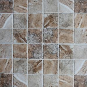 China Ceramic Bathroom Floor Tiles / Rustic Ceramic Tile Low Water Absorption wholesale