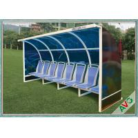 China OEM Soccer Field Equipment Portable Football Substitute Bench For Vip Seats wholesale