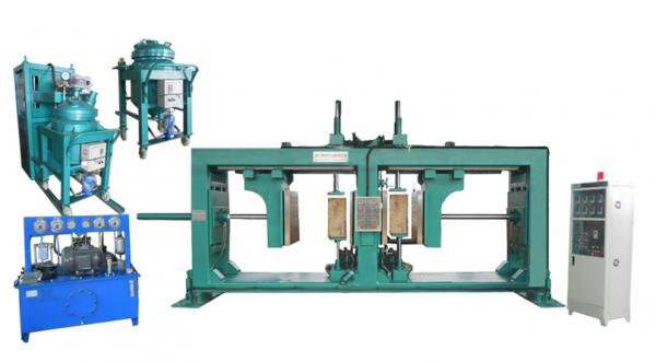 Hydraulic post pullers : Hydraulic post puller images