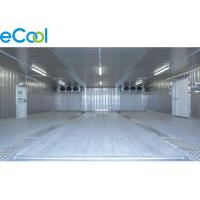 Buy cheap Steel Structure Cold Storage PU Panel Assembling For Frozen Vegetables And from wholesalers