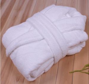 China coral fleece bathrobe for men and women wholesale