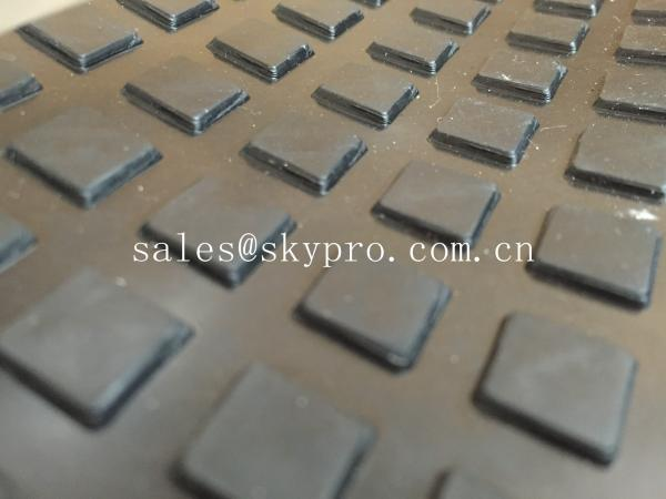 Quality Heavy duty rubber car matting , customized anti-skid rubber mats for garage flooring for sale