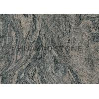 China Natural Granite Slab Tiles For Research Center Polished Visual Low Shade Variation on sale