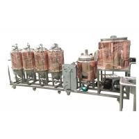 China Automatic Control 4BBL Home Pub Equipment Electricity Heating For Beer Fermentation wholesale