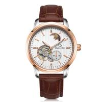 China Automatic mechanical movt stainless steel caseback wrist watch for men on sale