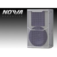 China Black Powered Passive Pa Speakers Lightweight With 18mm Thick Plywood on sale