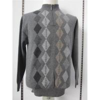China Argyle cashmere pullover sweater wholesale