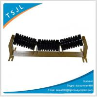 China Shock absorber belt conveyor impact rubber roller for coal mining equipment on sale
