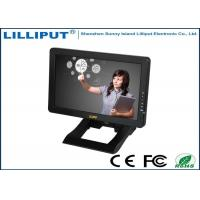 China Black 10.1'' Desktop HDMI Touch Screen Monitor , 4 Wire Resistive Touch Panel wholesale