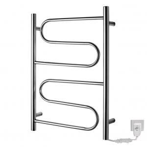 China 60W Onda Warmer   stainess steel  heated towel racks for bathroom wholesale