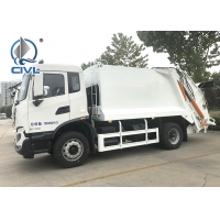 China New Sinotruk 266HP Garbage Compactor Truck Euro II 10 tires with Hydraulic Arm Hook Lift wholesale