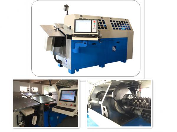Quality High Precision Automatic Wire Bending Machine With Servo Motion System for sale