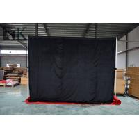 China pipe and drape curtain wedding stage backdrop event decoration job vacancy on sale