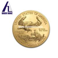 China Hot sale 1 oz tungsten gold plated coin American Eagle with good performance wholesale
