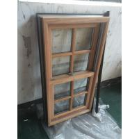 China Powder Coating / Wooden Grain Aluminium Window Profiles GB / T6892-2006 wholesale