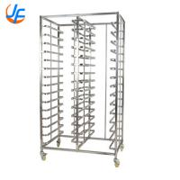 China Stainless Steel Bread Baking Rack , Baking Oven Trolley Square Tube wholesale