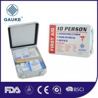China 10 paquete al aire libre de los primeros auxilios del equipo de primeros auxilios del ANSI del OSHA de los niños de la persona mini con la caja de los PP wholesale