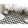 China Las mantas orientales 3d del piso imprimieron el material de la tela de la felpa de la alfombra wholesale