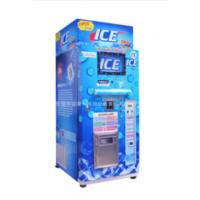 China Restaurant Commercial Ice Vending Machine Charged By Coin / Note CE Approval wholesale