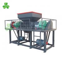 China Durable Double Shaft Shredder Machine 200KG To 10 Tons Per Hour Capacity on sale