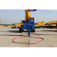 China High Reliability Vibratory Hammer Pile Driver Middle Large Type Multifunctional on sale