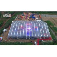 China Big sports event tent, large clear span sports tent hall, big event tent hall for sports wholesale