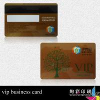 China 13.56MHZ Glossy PVC Magnetic Stripe Cards With Colorful Printing wholesale