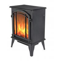China Cheap Freestanding Electric Fireplace burning log real flame GM2000-16A  inndoor/room heater on sale