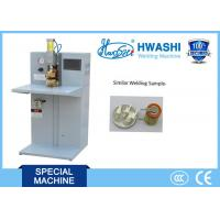 China HWASHI Capacitor Discharge Lithium Battery Double Table Pulse  Spot Welding Machine wholesale