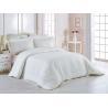 China 100% Cotton 60 * 40S 300TC Hotel Bedding Set White Color King Size Plain Style wholesale