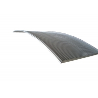 China 0.5mm Slot Width 500mm Wedge Wire Screen For Starch Production wholesale