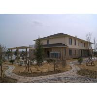 China Prefabricated Steel Structure Villa Modern Designed Metal Frame House Construction wholesale