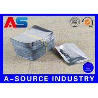 Silver Standing Up Plastic Aluminum Foil Zip Lock Bag Medication Blister Packs