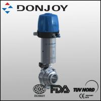 China Pneumatic Butterfly-Type Ball Valve With C-Top wholesale