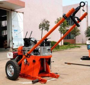Buy cheap máquina portátil geotécnica de la plataforma de perforación de la profundidad del 150m/plataforma de perforación rotatoria from wholesalers