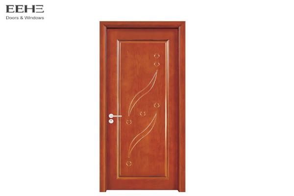 Quality Commercial Classic Hollow Core Timber Door With Wood Grain Flush Design for sale