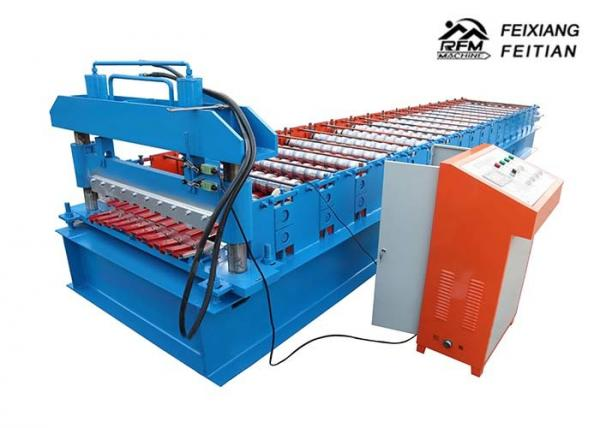 Quality Steel Metal Windows Roller Shutter Door Roll Forming Machine With 1200mm Feeding Width for sale