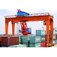 China Container Rail Mounted Gantry Crane Double Beam , Electric Mobile Gantry Crane wholesale