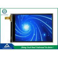 China Mobile Phone Four Wire Resistive Touch Screen 3.2 Inch With ITO Layer wholesale