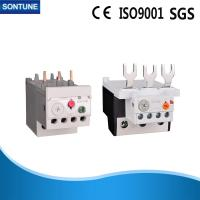 China Gray 50Hz Thermal Overload Relay Bakelite Shell STH-40 Auxiliary Contact Block on sale